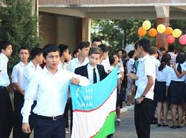 Ташкентские студенты выступают против терроризма