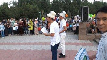 Kyrgyz pro-peace campaign takes place