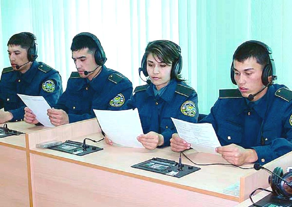 Узбекистанские женщины вступают в ряды правоохранительных органов