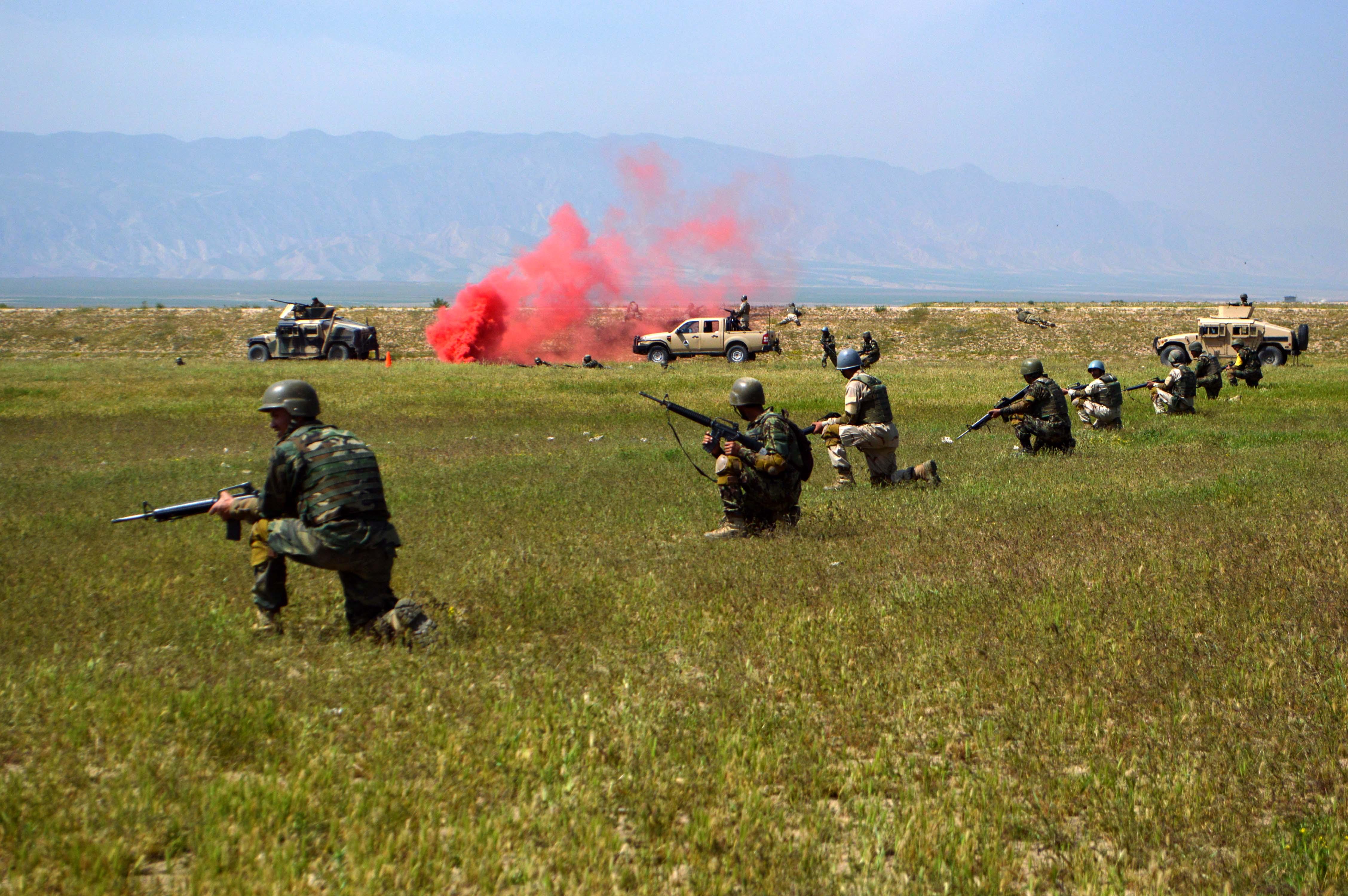 Training, equipment boost Afghan army on battlefield