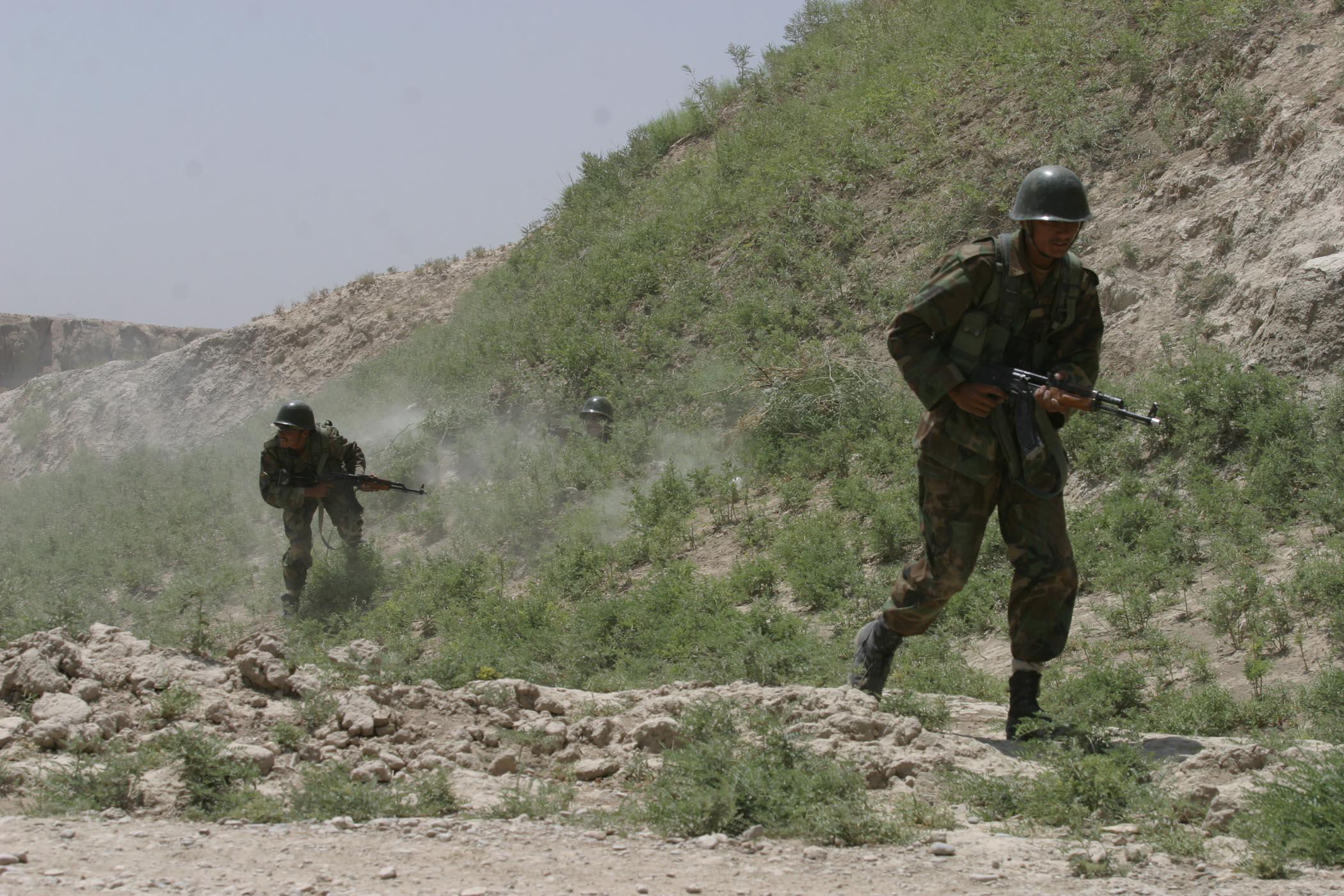 Афганистан начал более интенсивные бои с ИГИЛ