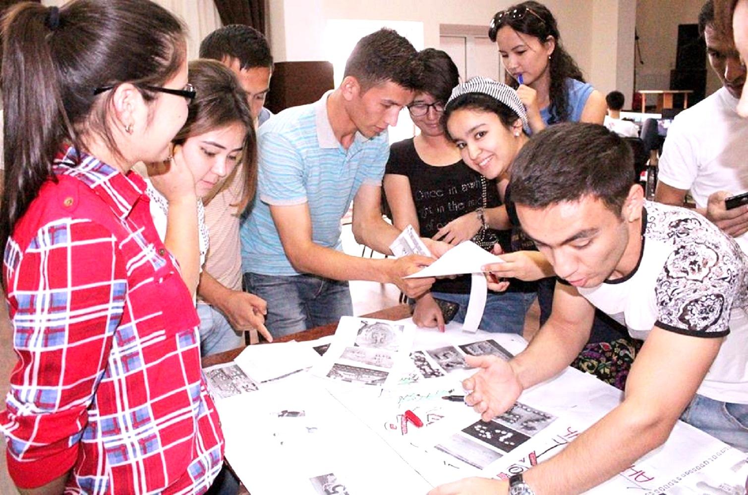 Uzbek youth organisations condemn terrorism