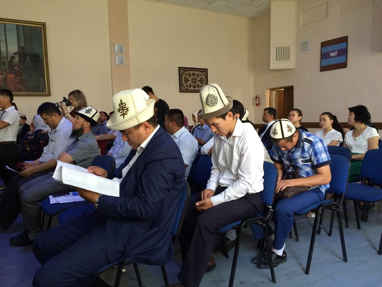 Теологический колледж в Кыргызстане выступил против радикализма и терроризма
