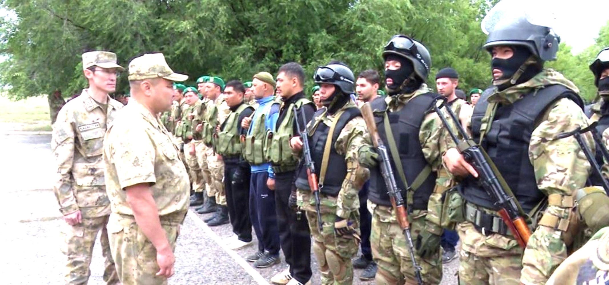 Kazakhstan trains border guards