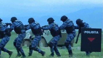 Turkmenistan showcases military power