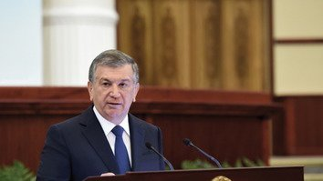 New Uzbek president vows to strengthen security