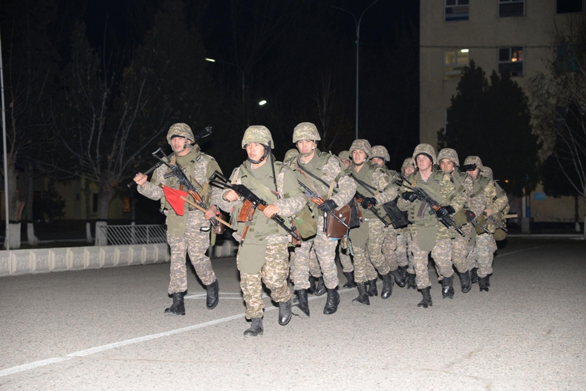 Kazakhstani army holds counter-terrorism exercises