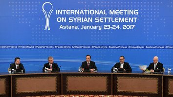 Казахстанцы гордятся ролью своей страны в сирийских переговорах