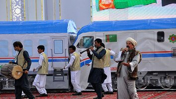 Major potential seen for Turkmen-Afghan trade on new railway