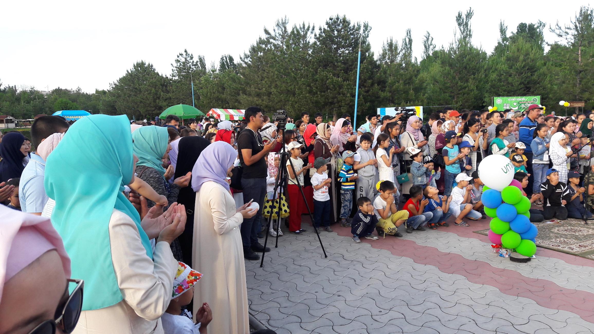 Фестиваль в честь Рамазана в Бишкеке способствует миру среди верующих