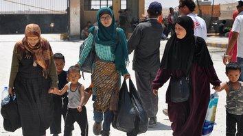 Группа верующих рассказывает о «лживости» ИГ после побега из Аль-Рака