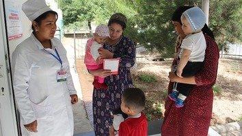 Международные проекты внедряются для борьбы с бедностью и плохим питанием в Таджикистане