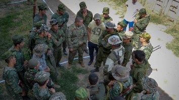 Совместные военные учения проводятся с учетом общих проблем для Центральной Азии