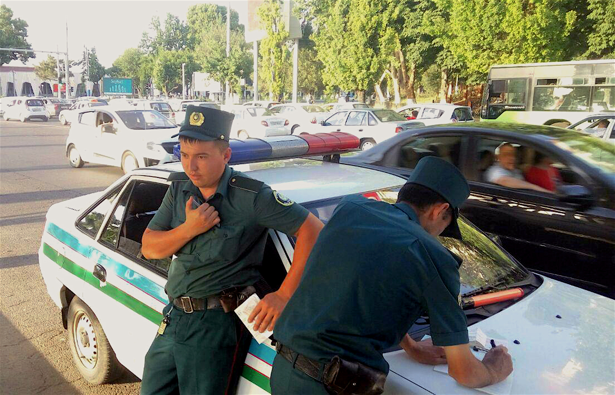 Tashkent police secure city as Independence Day nears