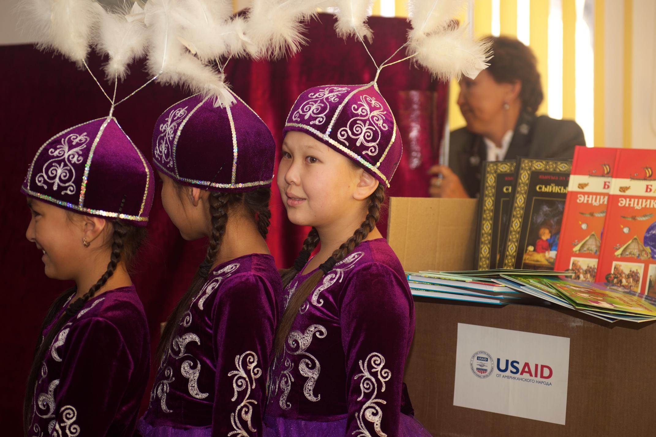 Библиотеки Таласа получили 13 000 книг от США