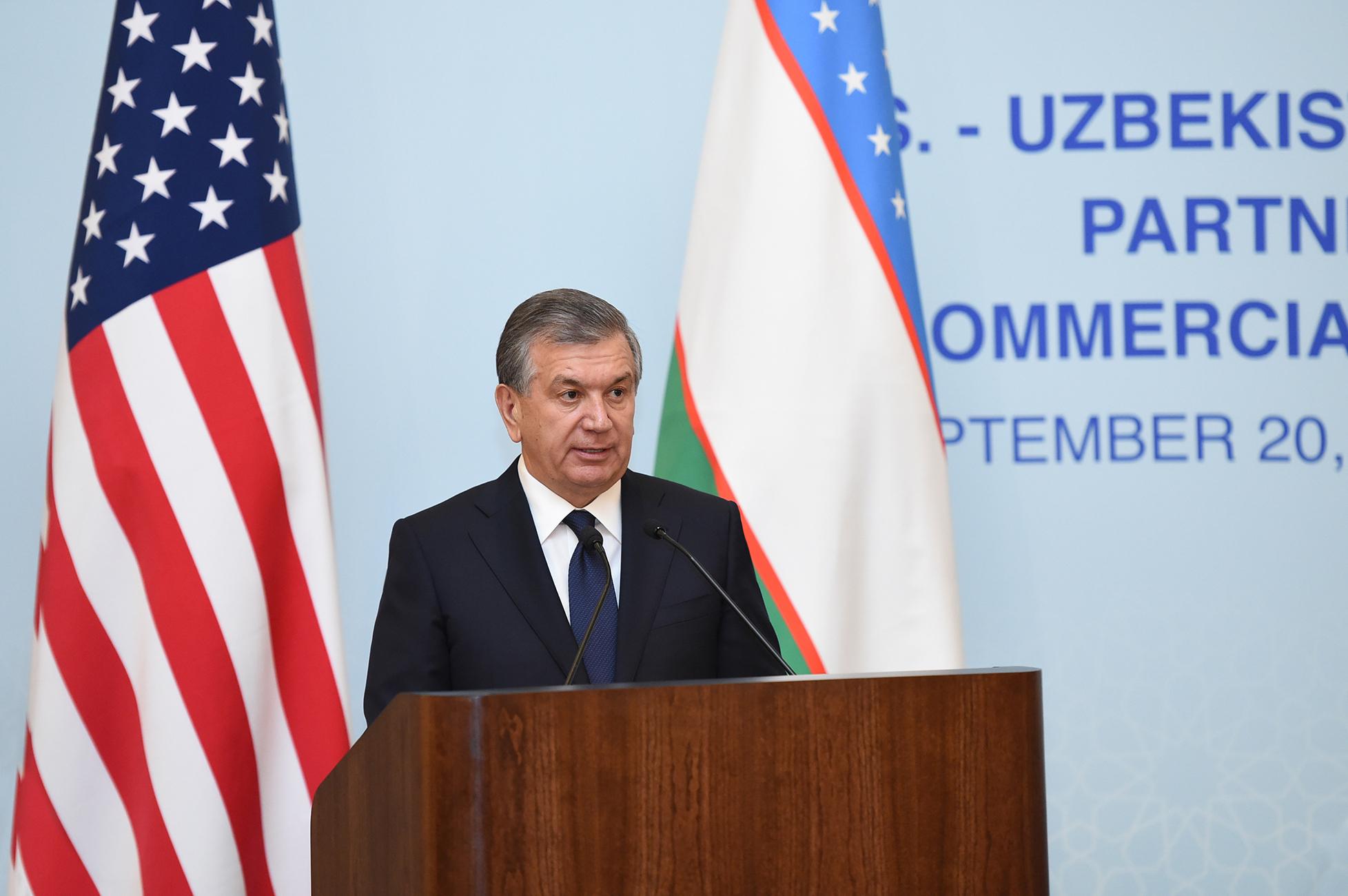 США и Узбекистан подписали контракт на 2,6 млрд долларов в знак «новой эры отношений»
