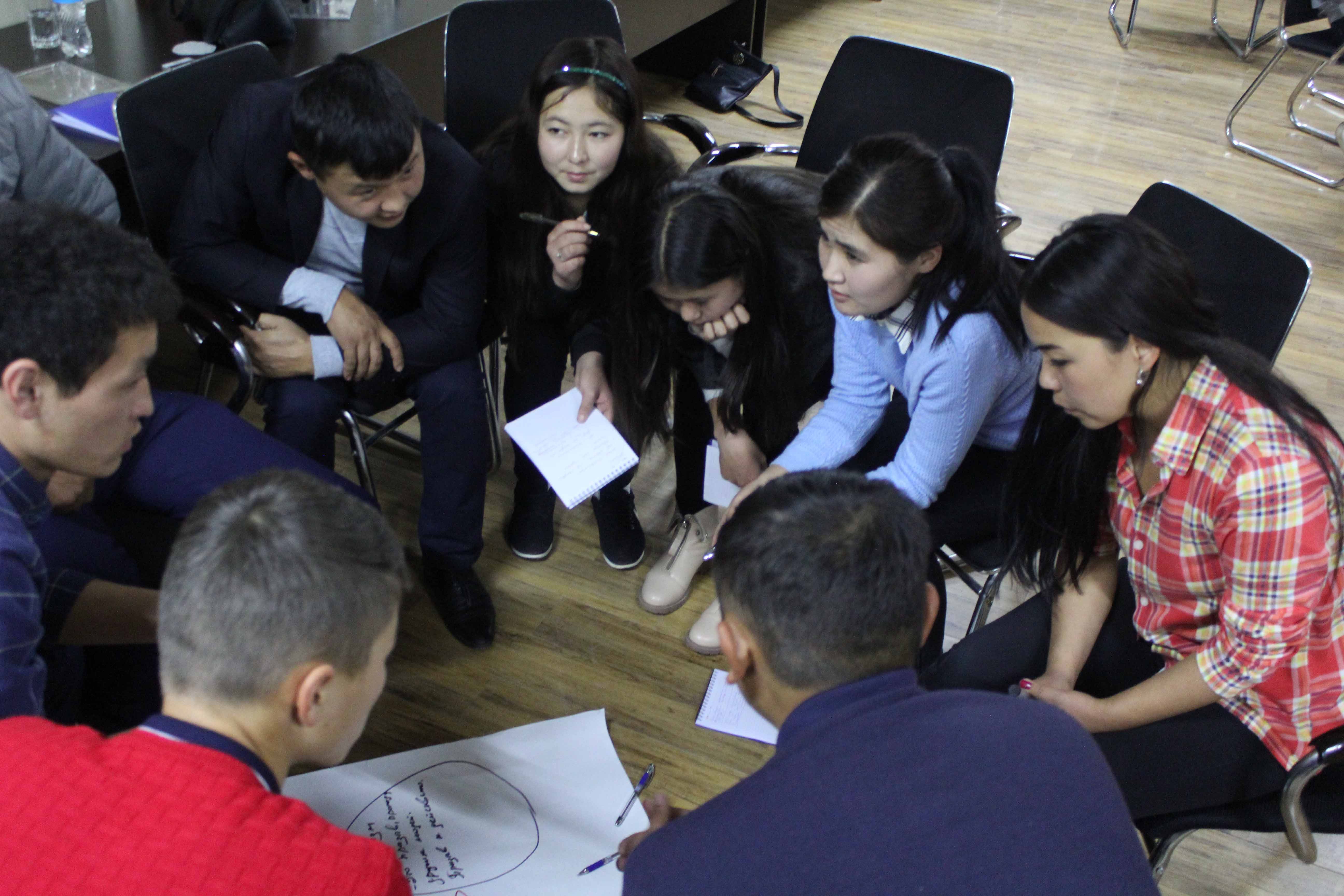 Финансируемый ЕС проект использует ролевые игры и театральные постановки для борьбы с радикализацией в Кыргызстане