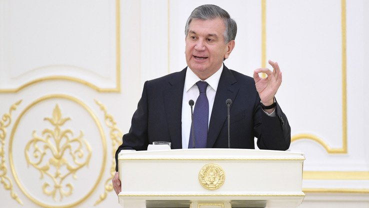 In a four-hour speech to lawmakers, diplomats and journalists last December 22, President Shavkat Mirziyoyev said the National Security Service (SNB) was still working based on a government mandate passed 26 years ago. [Uzbekistani presidential press office]