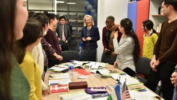 Узбекские студенты мечтают учиться в США