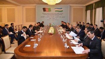 Узбекистан и Афганистан провели символическое первое заседание совместной комиссии