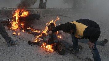 Военные преступления поддержанного Россией режима порождают 'апокалипсис' в Сирии