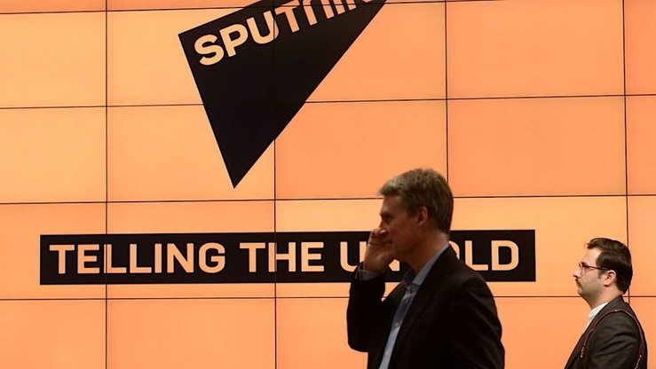 Russian media outlet Sputnik is a propaganda platform, say internet users and analysts. [Sputnik/Alexey Filippov]