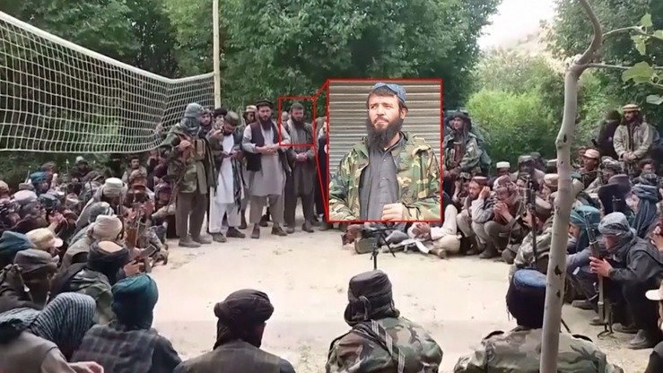 Qari Hikmatullah, a top 'Islamic State' leader in Afghanistan killed in an air strike last week, is shown in a picture dated April 5. His death was 'a big blow' to IS in the north, say Afghan and coalition officials. [Courtesy of NATO]