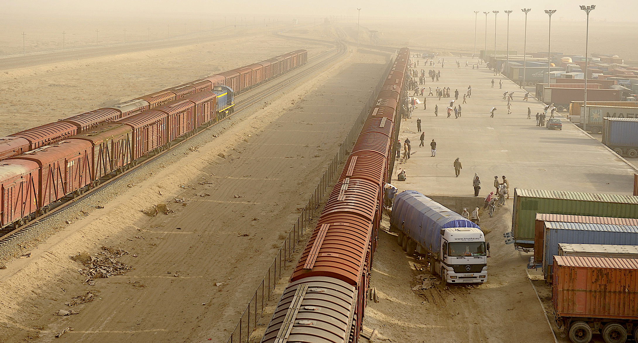 Afghan railway project closer to reality following Mirziyoyev's US visit