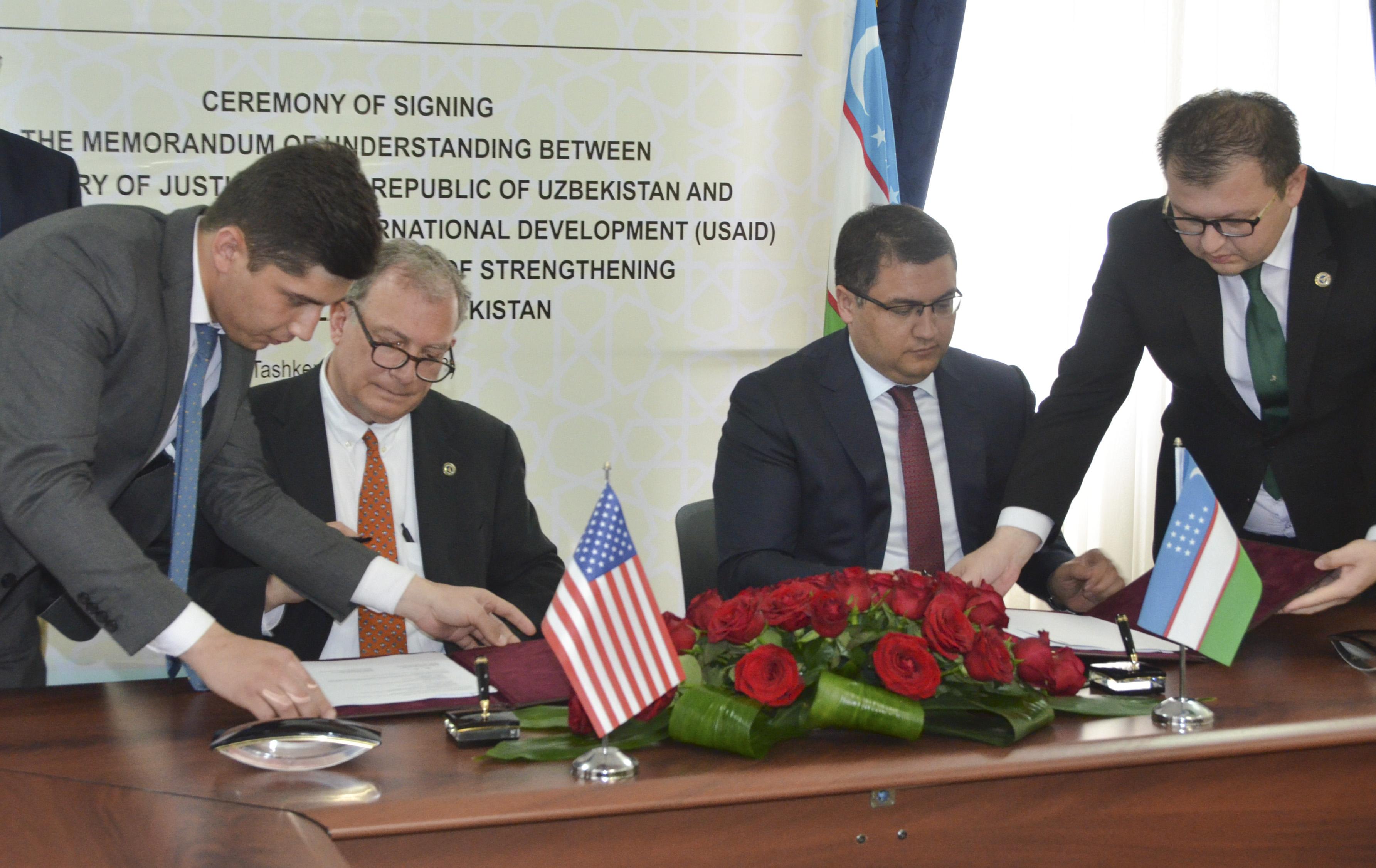 USAID Ўзбекистонда суд тизими ислоҳотини қўллаб-қувватлайди