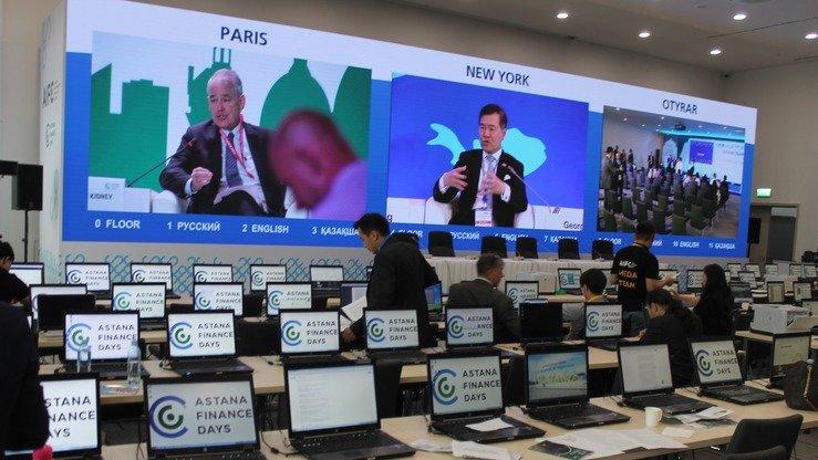 Участники узнают о возможностях, доступных в международном технопарке Astana Hub, в рамках мероприятий Astana Finance Days, прошедших с 3 по 5 июля. [Айдар Ашимов]