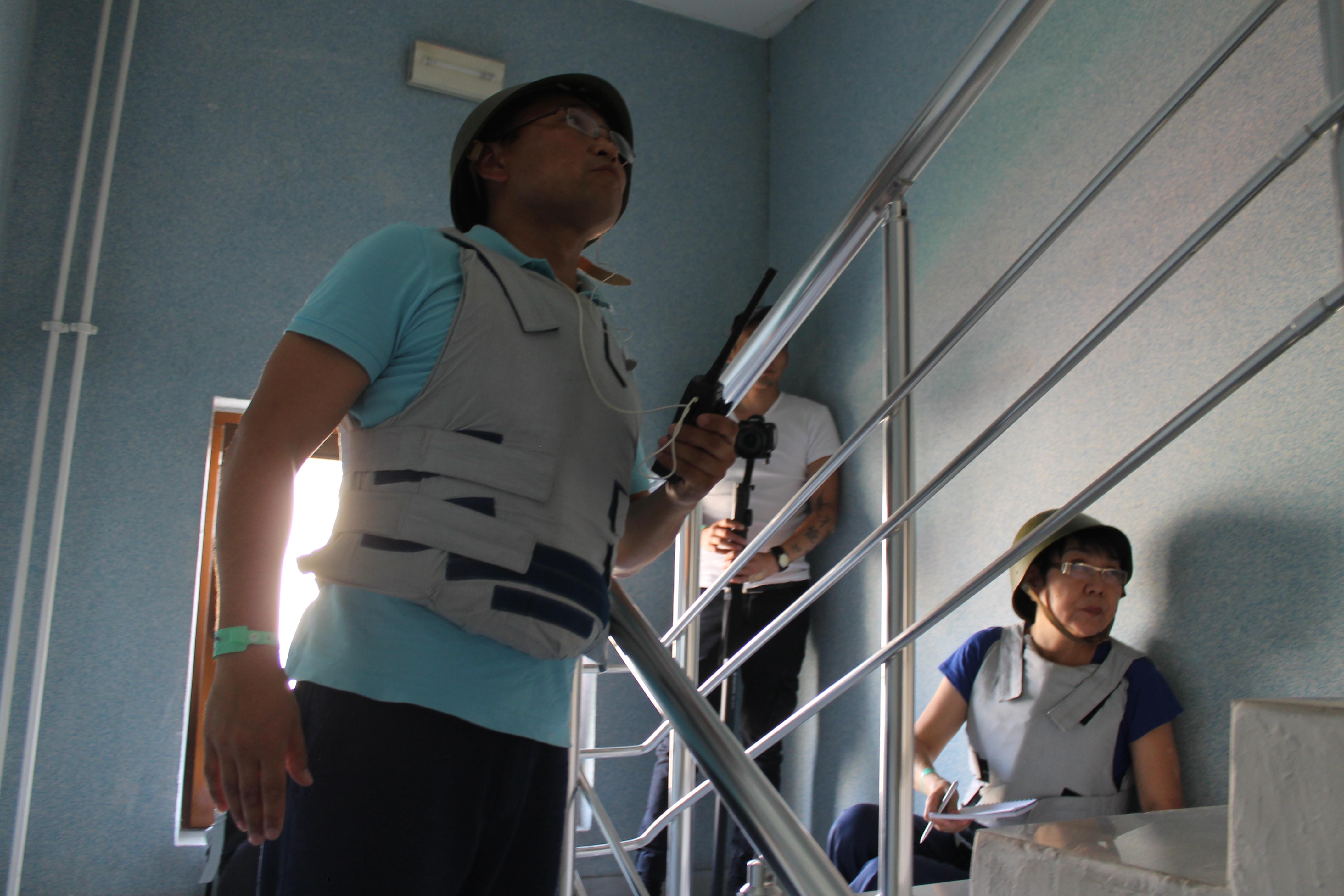 OSCE teaches Kazakh law enforcement conflict management skills