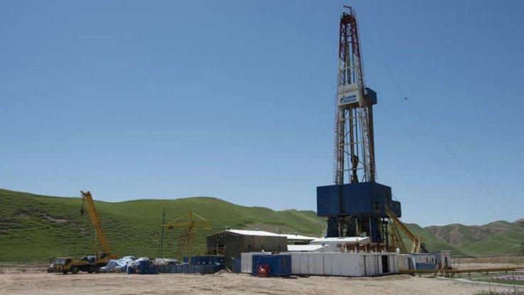 Скважина Газпрома в Таджикистане. [Gazprom International]