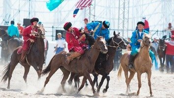 High hopes in Kyrgyzstan for upcoming World Nomad Games