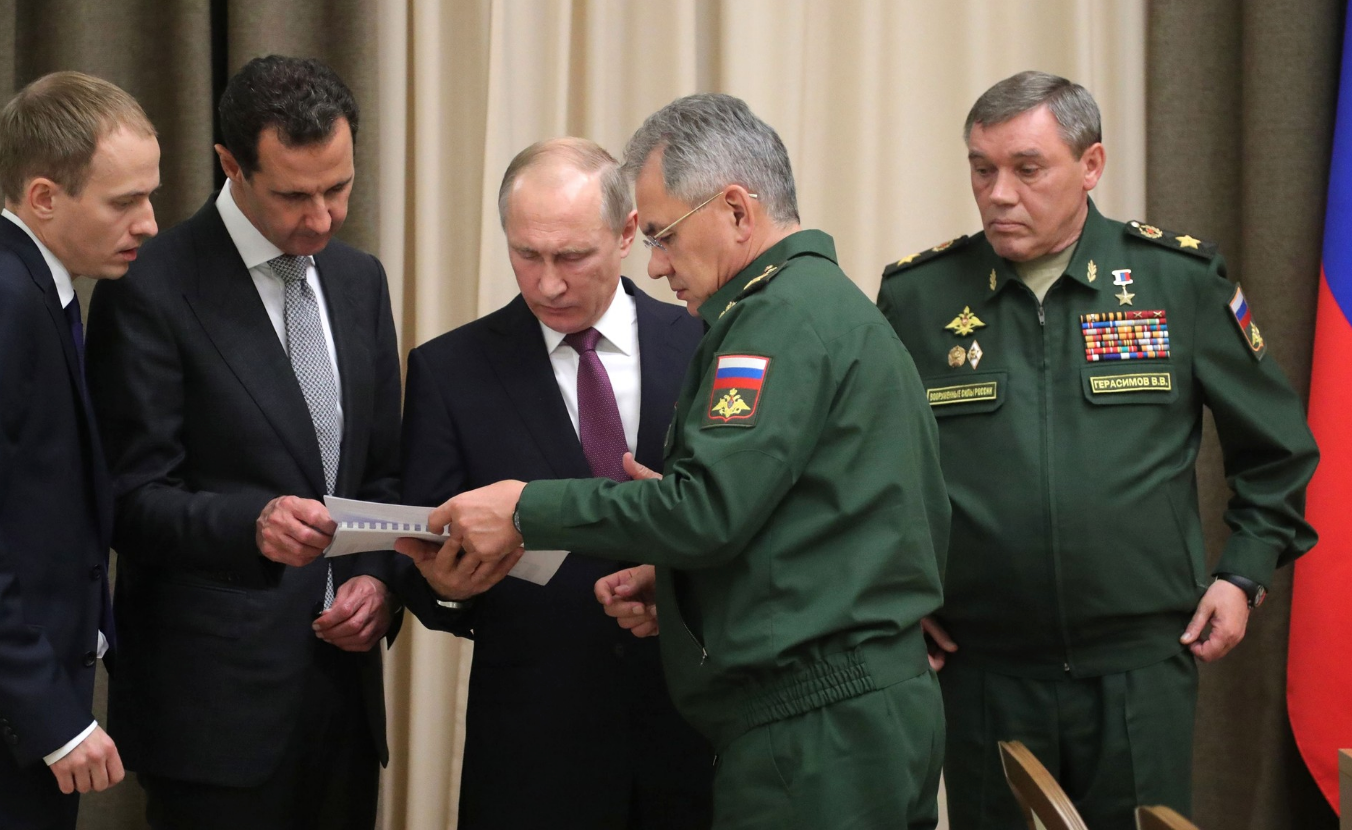 Documentation of chemical weapons use builds against Russian ally