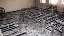 Gunmen in July set the Joyak girls' school on fire, burning furniture and supplies, including desks and chairs, books and notebooks. The government blamed the Taliban for the attack. [Logar Education Department]