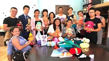 Making toys gives hope to young Kazakhs with disabilities