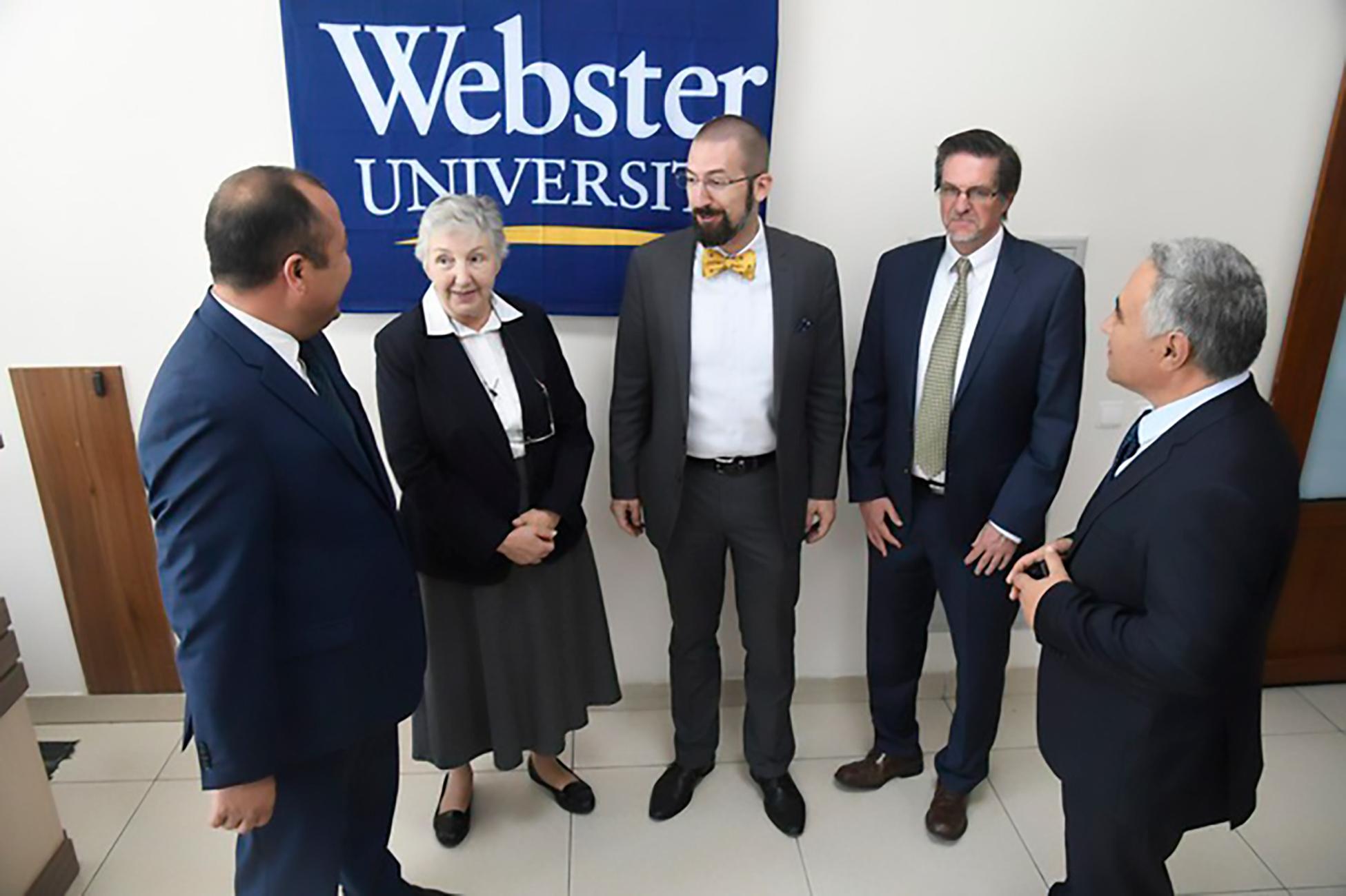 AQSHning Vebster universiteti o'zbekistonlik talabalar uchun o'z eshiklarini ochdi
