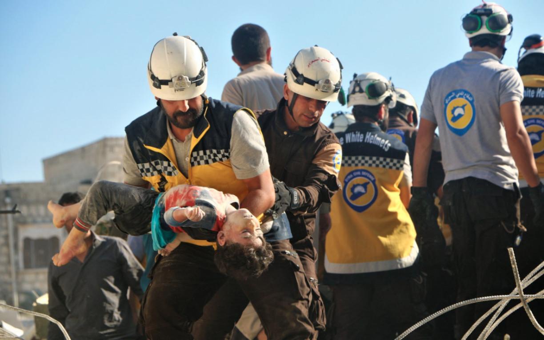 Россия продолжила кампанию по дезинформации, называя сирийских спасателей «террористами»
