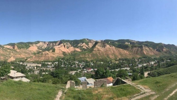 Mailuu-Suu, Kyrgyzstan, shown in May 2017, is one of the world's ten most contaminated cities. [Askhat Sakebayev]