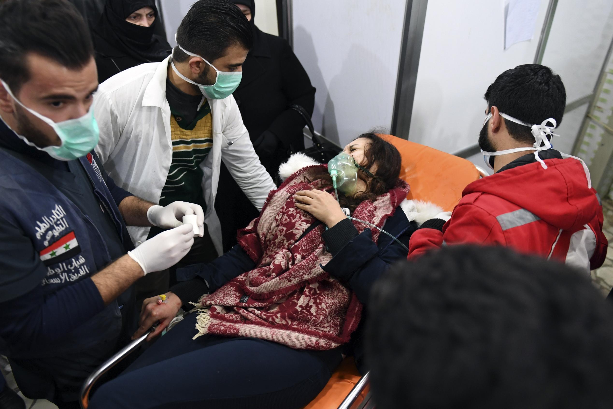 Россия «сфабриковала» атаку с использованием химического оружия для подрыва процесса перемирия в Сирии