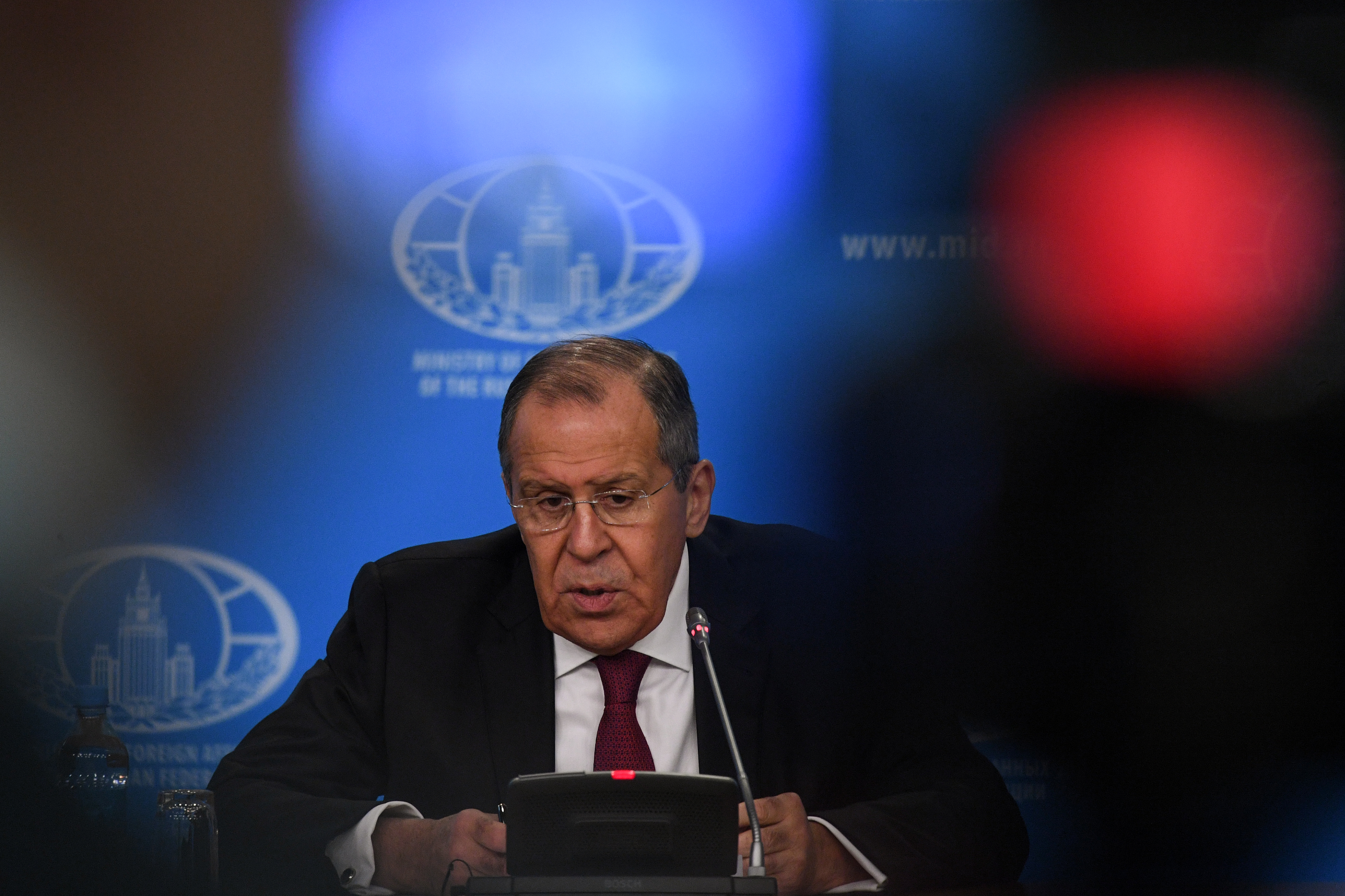 Russia signals willingness to save INF treaty as it remains in 'material breach'