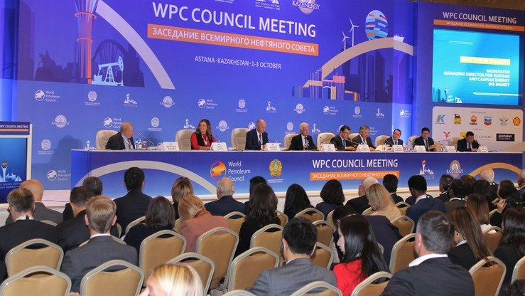 The World Petroleum Council meets in Astana October 2. Kazakhstan is moving to export finished oil products, not just crude oil. [Aydar Ashimov]