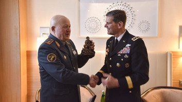 US CENTCOM commander confers with Central Asian leaders in Tashkent