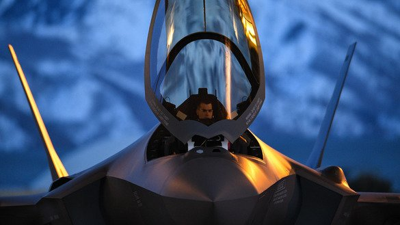 A pilot prepares to launch an F-35A Lightning II at Hill Air Force Base, Utah, March 26. [US Air Force]