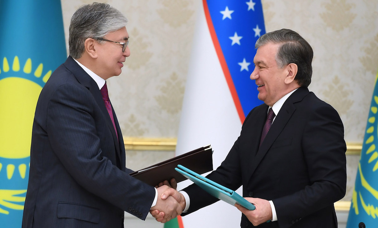 With eye on regional security, Kazakhstan, Uzbekistan ink new military co-operation deals