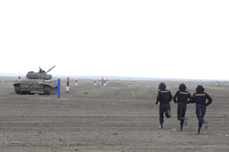 Eyeing 'plenty of threats', Kazakhstan ramps up defence spending