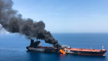 Suspected Iranian attacks on oil tankers represent 'clear threat' to global trade