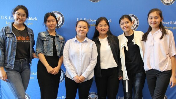 Kyrgyz girls head to US for intensive technology training programme