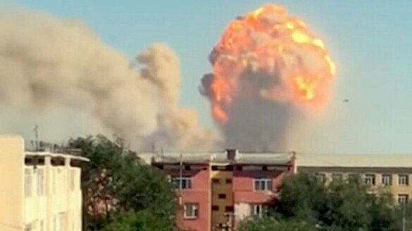 Kazakhstan launches probe of deadly arms depot explosion
