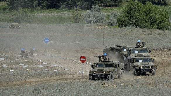 Role of Kazakh military grows in international peacekeeping missions